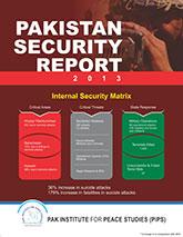 Book Cover: Pakistan Security Report 2013