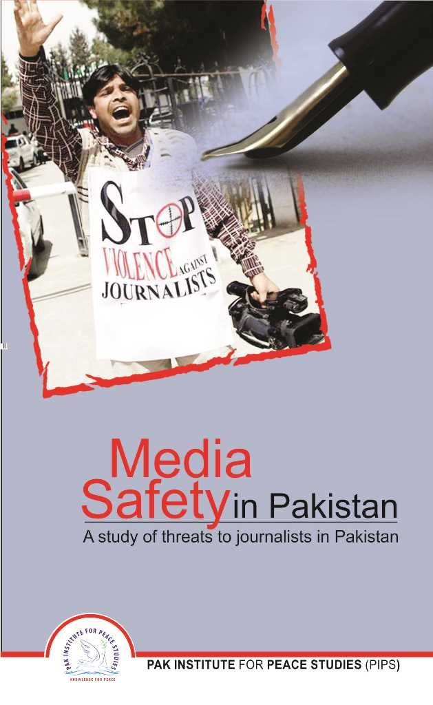 Book Cover: Media Safety in Pakistan