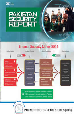 Book Cover: Pakistan Security Report 2014