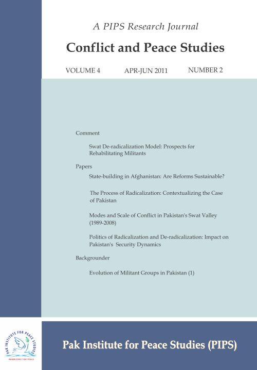 Book Cover: Conflict and Peace Studies, Vol-4, No-2, Apr-Jun 2011