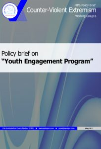 Book Cover: National Policy brief-6 Youth Engagement Program