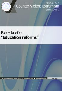 Book Cover: National Policy brief-9 Education reforms