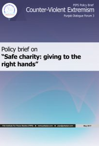 Book Cover: Punjab Policy brief-3 Safe charity: giving to the right hands