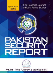 Book Cover: Pakistan Security Report 2016