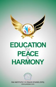 Book Cover: Education for peace and harmony