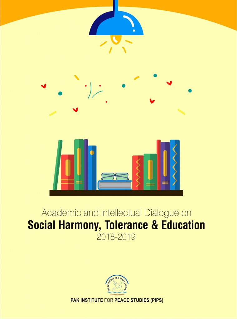 Book Cover: Academic and Intellectual Dialogue on Social Harmony, Tolerance and Education